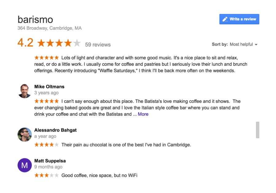 online reputation management google reviews