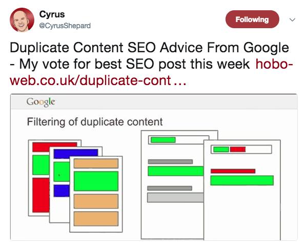 seo duplicate content