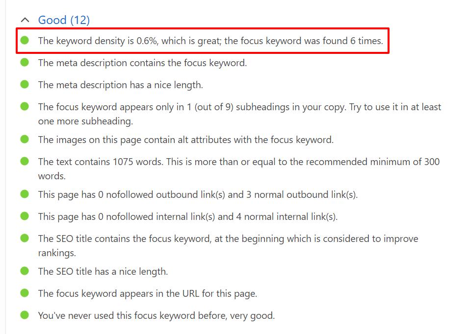 bad seo keywords